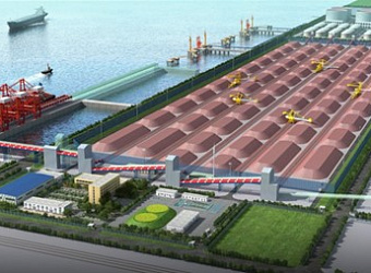Bulk Cargo Handling System of Tianjin Port International Ore Terminal